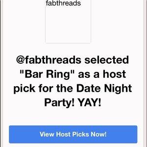Jewelry - Bar Ring